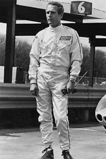 Paul Newman Full Length In Racing Drivers Outfit Winning 11x17 Mini Poster