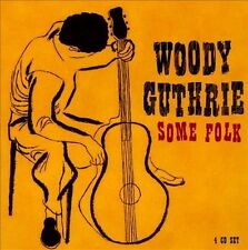 Woody Guthrie, Some Folk, 4CD ProperBox #115, UK, 2006, MINT- w/48page booklet!