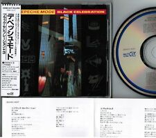 Ex+! DEPECHE MODE Black Celebration JAPAN CD 32XD-437 w/STICKER OBI+PS+INSERT