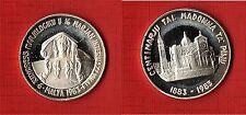 MALTA - 9º Congresso Mariologico e 16° Mariano Internazionale 1983 Medaglia spl