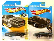 Hot Wheels Kitt Knight Rider 2 pack variation. Old + New