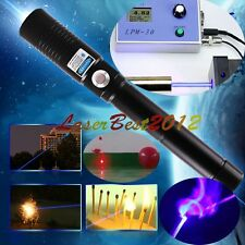 5W960B-B 450nm Blue Laser Pointer Burn Matches Light Cigarettes Pop Balloons