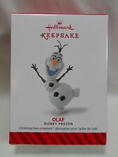2014 Hallmark Keepsake Ornament Olaf Disney Frozen Movie Loc B35
