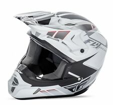 Fly Racing Kinetic Impulse MX motocross helmet mtt white adult XXL 2XL 73-33612X