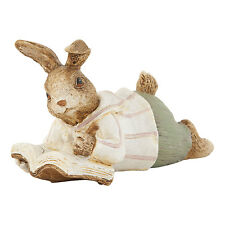Easter Decoration Clayre Eef Easter Bunny 11cm Decorative Ceramic Easter Shabby