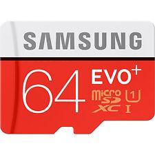 Samsung EVO Plus Transflash Micro SD 64GB Class 10 SDXC Memory 64G 64 GB MicroSD