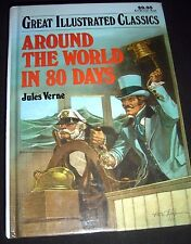 Great Illustrated Classics Around the World in 80 Days by Jules Verne 1989