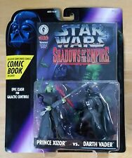 Star Wars 1996 Shadows Of The Empire Prince Xizor Vs. Darth Vader w/comic book