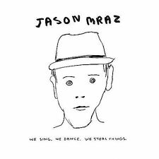 We Sing, We Dance, We Steal Things - Mraz Jason CD New