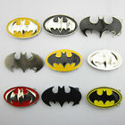 Western New Superhero Batman Cowboy mens Metal belt buckle Leather Costume Gift