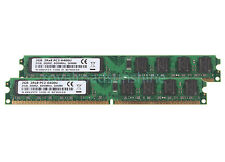 NEW RAM 4GB 2X 2GB DDR2 2RX8 PC2-6400U 800MHz DIMM Desktop memory For intel CPU