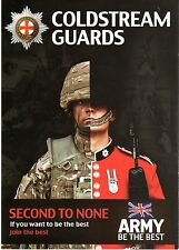 THE COLDSTREAM GUARDS-RECRUITING LEAFLET-MINT CONDITION-BRIGADE OF GUARDS