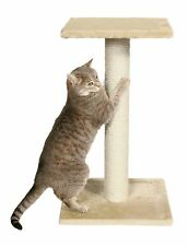 Best Cat Scratching Post Tall Scratch Tower for Large Cats Natural Sisal Beige