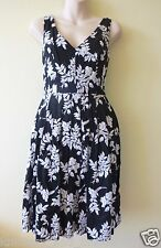 NWT Betsey Johnson RARE Dress FLORAL Vintage Style EMBROIDERED Black Sz 4 Small