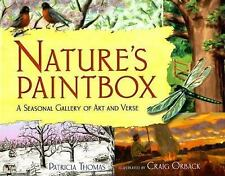 Natures Paintbox NEW Poetry NATURE Art POEMS Artwork KIDS Book SEASONS Styles