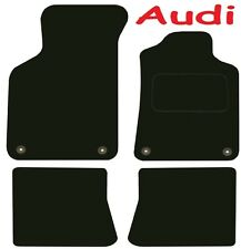 Tailored Deluxe Quality Car Mats Audi TT 1999-2006 ** Black ** Convertible Coupe