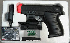 Paifa P.0621+AB Airsoft Pistol 6mm BB w. Laser Sight & Tactical Flashlight NEW