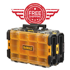 Dewalt Tough System 100 Bucket Tool Organizer Clear Lid Case Box Drill Bit Screw