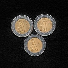 (Ʒ) 1 Peso Mexico 1997-1998 & 2000 -Ship 50Ȼ Per item Added