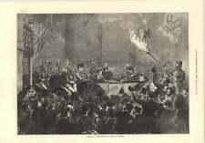 1874 llegada del emperador ruso en Windsor llameante Antorcha