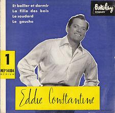 EDDIE CONSTANTINE LE GAUCHO FRENCH ORIG EP EDDIE BARCLAY / JO BOYER