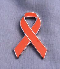 ***NEW*** Multiple Sclerosis Awareness ribbon enamel badge. MS