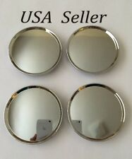 "4 pcs Universal Chrome Wheel Center Caps 63mm/ 2 1/2"" Fit Jeep Chrysler Dodge"