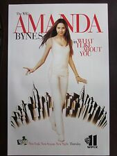 """Amanda Bynes Poster What I Like About You WB Nr Mint 14.5"""" x 22"""""""