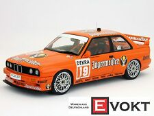 AUTOart BMW M3 E30 Sport Evolution #19 Jägermeister DTM 1992 1:18 Genuine NEW