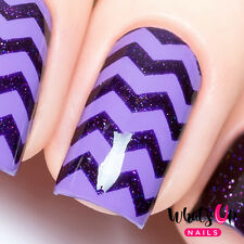 Zig zag tape for nail art, chevron stickers for nails, nail vinyls