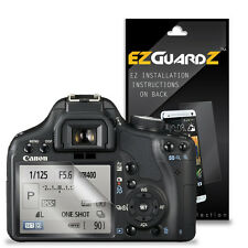 2X EZguardz LCD Screen Protector Cover HD 2X For Canon T1i / 500D (Ultra Clear)
