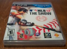 Baseball MLB 12: THE SHOW Sony PlayStation 3 PS3 VIDEO GAME 2012 COMPLETE