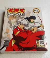 DVD INUYASHA Season 1+2+3+4+5+6 Episode 1-167 ENGLISH Dubbed (12 Disc) Boxset