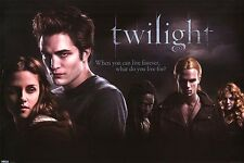"TWILIGHT POSTER ""LANDSCAPE"" LICENSED ""BRAND NEW"" EDWARD, BELLA ""ROBERT PATTINSON"