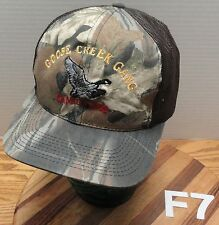 GOOSE CREEK GANG CANADA 2002 CAMO HAT SNAPBACK ADJUSTABLE EXCELLENT CONDITION