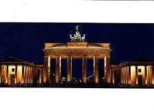 Berlin , Brandenburger Tor , Ansichtskarte, gelaufen