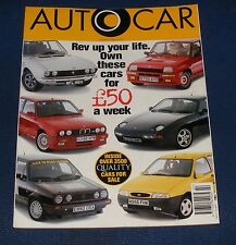 AUTOCAR 29TH MAY 1996 - CHRYSLER NEON