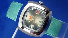 Gents NOS Vintage Astromatic Cancer Star Sign Automatic Watch 1970s Swiss