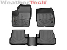 WeatherTech Custom Floor Mat FloorLiner for Lincoln MKC - 2015-2016 - Black
