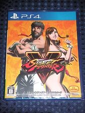 NEW PS4 Street Fighter V 5 Limited ed. HOT! PACKAGE CAPCOM JAPAN F/S w/ Tracking
