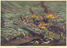 Images of Americana. The Great Johnstown Flood. Fine Art Print