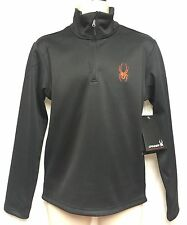 Spyder 1/2 Zip Fleece T-Neck Jacket 507002 Men S/P Pull Over Fit System Shirt