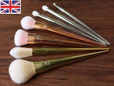 2015New REAL TECHNIQUES Makeup Bold Metal 7pcs Set Blush Brushes Full Kit Tools
