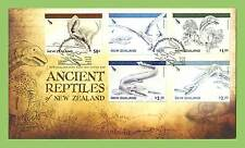 New Zealand 2010 Dinosaurs of New Zealand First Day Cover