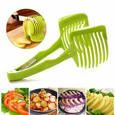 Potato Food Tomato Onion Lemon Vegetable Fruit Slicer Egg Peel Cutter Holder HF