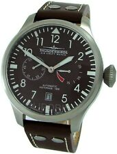 Thunderbirds AUTOMATIC 25Jewels SeaGull XXL Fliegeruhr pilot men watch Herrenuhr
