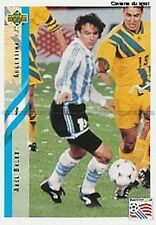 N°196 ABEL BALBO ARGENTINA TRADING CARDS UPPER DECK WORLD CUP USA 1994