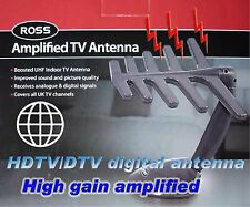 HDTV UHF VHF TV DIGITAL ANTENNA Indoor amplifier boost1
