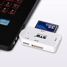 5Gbps Mini USB 3.0 All in 1 Multi SD TF CF MS Flash Memory Card Reader Adapter