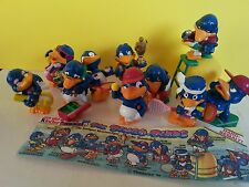 kinder surprise toys bingo birds figurines lot vintage